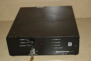 Omnichrome Model 100 Laser Power Supply W Keys 2b