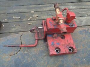 Ford Tractor 600 800 Hydraulic Control Valve For Cylinders One Way Or Two Way