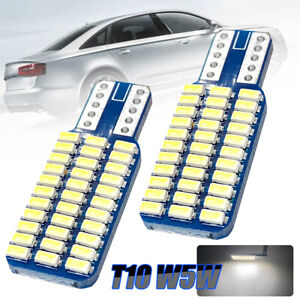 1x T10 192 194 168 W5w 33 Smd Led Canbus Car Door Light Width Lamp Bulb White