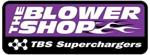 The Blower Shop 4372 Dual Inlet Fuel Line Kit Holley 4150 Polished Ss