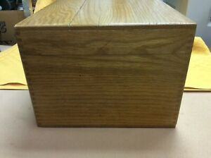 Vintage Wooden Merchants Box Co Dated Sept 1961