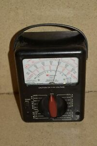 Triplett Model 630 Type 4 Multimeter