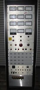 X ray Test Rack Power Supply 840 40a Dc Power Supply alarms meters 1437