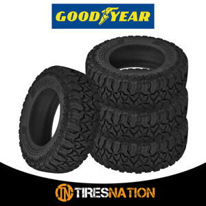 4 Goodyear Fierce Attitude M T Lt225 75r16 115p E All Season Mud Tires