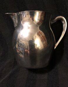 Poole Silver Paul Revere Creamer Pitcher 528