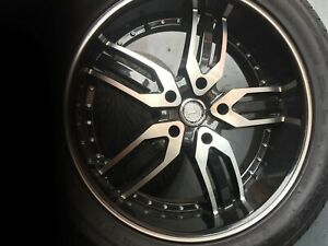 Used 22 Inch Rims And Tires Good Condition