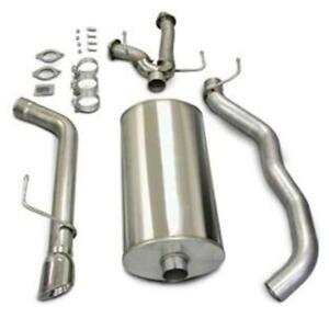 Corsa 14573 Cat Back Exhaust System Single Rear Exit