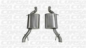 Corsa 14325 Sport Axle Back Exhaust System