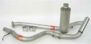 Dynomax 39311 Stainless Steel Cat Back Exhaust System 3 In Single System