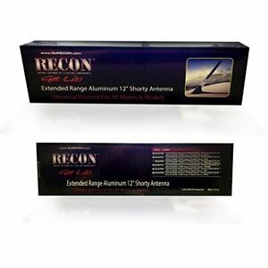 Recon 264antch Extended Range Aluminum 12 Shorty Antenna Universal Fitment