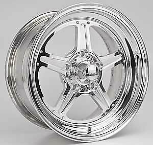 Billet Specialties Rs035706545n Street Lite Polished 15 X 7 Inch Wheel