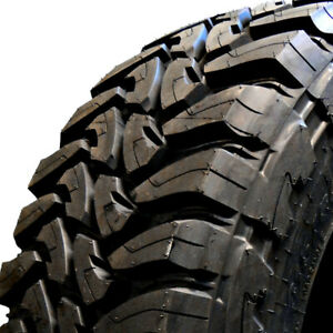 2 new 37x12 50r20lt Toyo Open Country Mt 126q E 10 Ply Mud Terrain Tires 360750