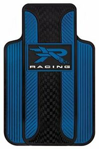 Blue R Racing Universal fit Molded Front Floor Mats Set Of 2