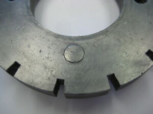 Cincinnati Monoset Grinder Workhead Index Plate 14 Toolmaster Dividing