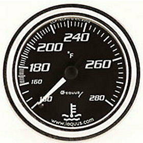 Equus 7242 Water Temperature Gauge Black