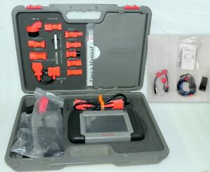 Autel Maxidas Ds708 Auto Diagnostic Tool Complete Kit Hardly Used