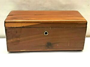 Vtg Salesman Sample Wood Lane Cedar Chest Condle Furniture Advertise Jewelry Box