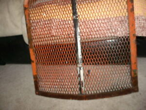 Allis Chalmers Unstyled Wc Wf Grill Screen Radiator Guard