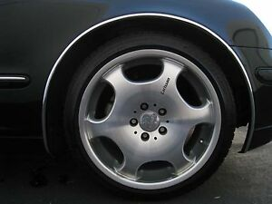 Lincoln Continental Ls Mark 8 Town Car Wheel Well Trim Molding
