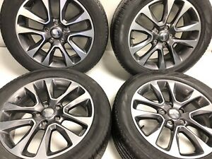 20 Oem Jeep Grand Cherokee 9168 Wheels And Tires Great Shape Pirelli Set