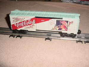 K-LINE  BOX CAR , 1992 COCA-COLA     0-027ga.