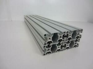 Lot Of 4 8020 T slot Aluminum Extrusion 115 Series 1530 uls X 24