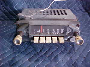 Old Ford Radio