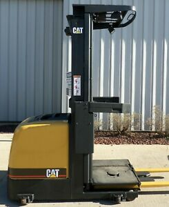 Caterpillar Model Nor22 2003 2200lbs Capacity Order Picker Electric Forklift