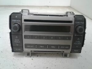 2009 Toyota Matrix Am Fm Cd Player Radio Oem