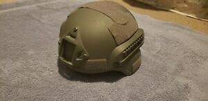 Lancer Tactical MICH 2000 SF Helmet w NVG Mount and Side Rails