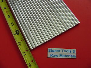 300 Pieces 1 4 Aluminum 6061 Round Rod 14 Long T6511 Solid 25 Lathe Stock