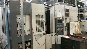 Okuma Ma400ha Cnc Horizontal Machining Center