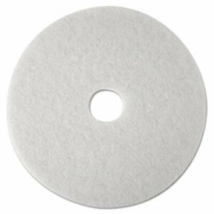 3m 20 Super Polishing Floor Pads In White 4100 5 Pads