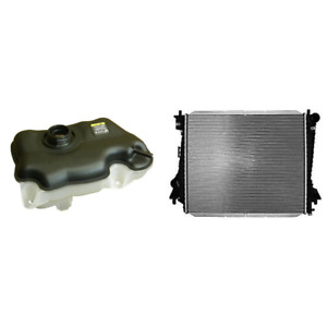 Engine Coolant Reservoir Radiator Kit For 2007 2014 Ford Mustang