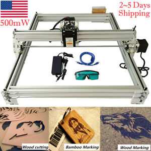 Desktop Laser Engraving Machine Diy Logo Marking Printer Engraver Cutting 500mw