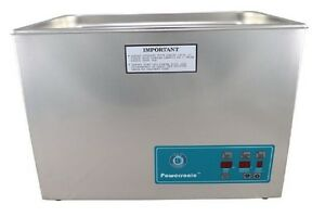 Crest Powersonic P1800d 132khz Ultrasonic Cleaner With Power Control W Basket