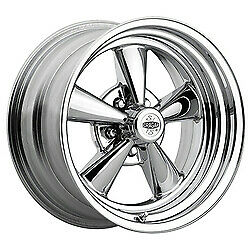 Cragar 61815 Crr Wheel Super Sport Steel Chrome 15 In X 8 In 5 X 4 5 4