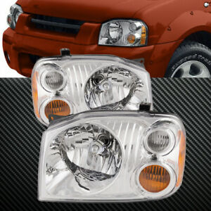 Headlight Halogen Set Left Right Fits 2001 2004 Nissan Frontier Base Xe Models