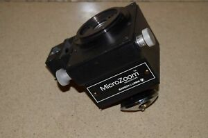 Bausch Lomb Microzoom Microscope Motorized Turret For Prober Station