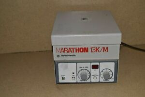 Fisher Scientific Marathon 13k m Benchtop Centrifuge W Rotor