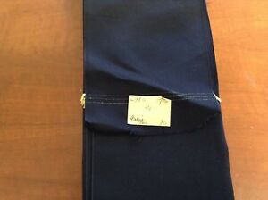 76 Yards Navy Blue 4 1 4 Vintage Taffeta French Solid Ribbon Made In France