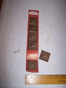 1970 Original Furniture Decorative Trim Molding Parts Pieces Corner 41