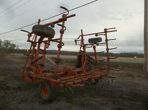 Farm Field Fitting Equipment Transport Cultivator Drags Harrow 24 Feet Wide