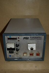 Psi Pitchford Scientific Instruments Portaspec Xray Spectrograph Model 2501