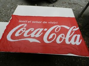 Antique Maritime Navy Sectional Signal Flag 36 X 60 Coca Cola
