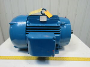 Baldor Cm4110t 40hp Electric Motor 460v 3ph 1775 Rpm 324tc Frame