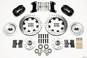 Wilwood Brakes 140 7675 d Forged Dynalite Big Brake Brake Conversion Kit