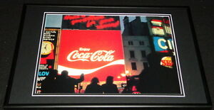 Coca Cola London Picadilly Circus Spectacular Framed 12x18 Photo Display