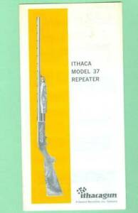 Ithaca Model 37 Owners Manual Reproduction