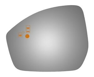 Burco 4716bc Left Side Mirror Glass For 15 16 Land Rover Discovery Sport